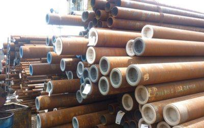 Стоманени тръби за газови съоръжения и инсталации.