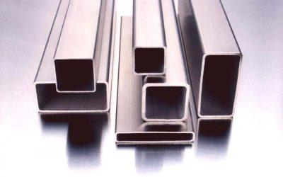 Профилни стоманени тръбис правоъгълно и квадратно сечение.