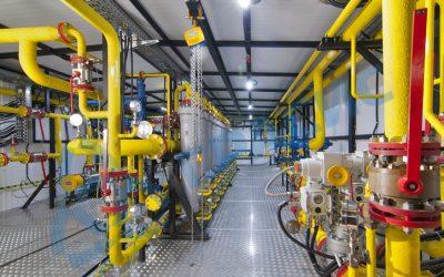 Инсталации за кислород, азот, водород.